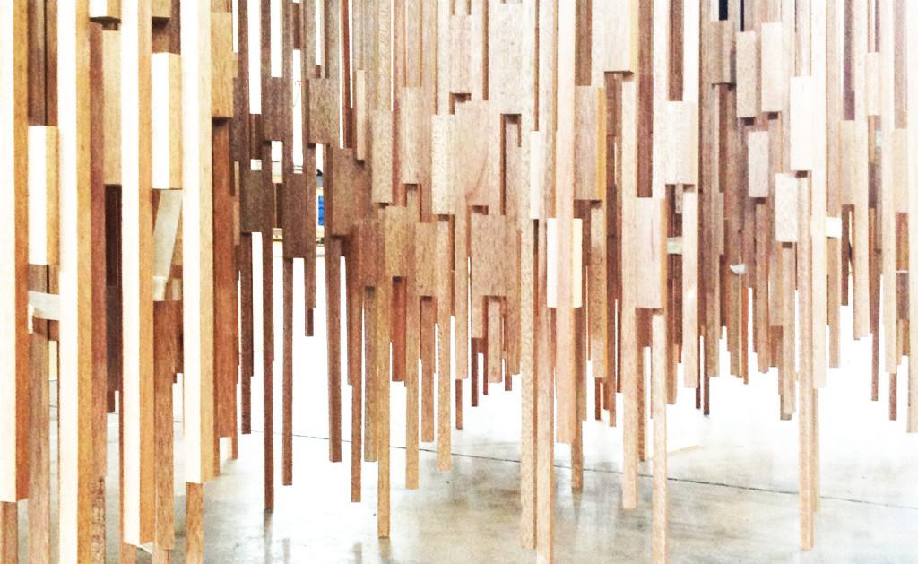 Covert Installation Pitti Uomo 2015- making